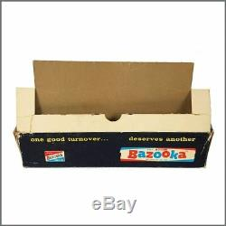 The Beatles 1964 Topps Trading Cards Shop Display Box (USA)