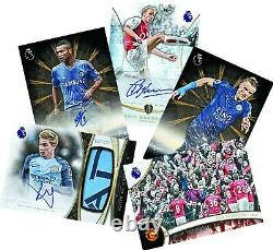 Topps 2016 Premier League Gold Soccer Trading Cards Hobby Box Sealed New U. S
