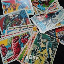 Topps Batman Trading Card Deluxe reissue edition in 1989 143 Cards Used