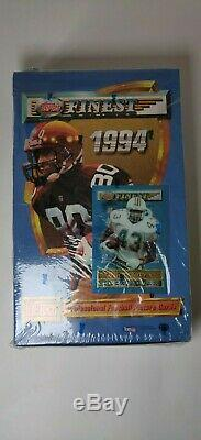 Topps Finest 1994 NFL Football Trading Cards SEALED NEW
