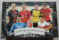 Topps Museum Soccer 2018-19 Bundesliga Fußball Trading Cards Autograph