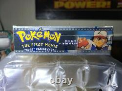 Topps Pokemon The First Movie Trading Cards Sealed Booster Box 2526 Blue Label