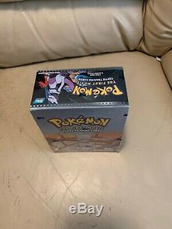 Topps Pokemon The First Movie Trading Cards Sealed Box 36 Packs Blue Logo RARE