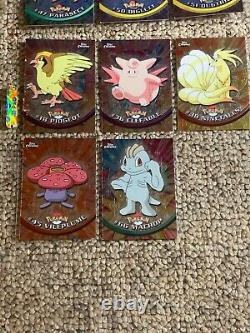 Topps Pokemon Trading Cards Series 1 Series 2 The First Movie ALL COMPLETE