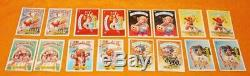 VINTAGE 1986 80s TOPPS GARBAGE PAIL KIDS 5TH SERIES TRADING CARDS COMPLETE SET