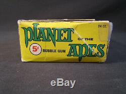 Vintage 1969 Topps Planet of the Apes Display Box for Wax Trading Cards