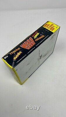 Vintage 1983 Topps Video City Arcade Trading Cards Stickers Full Wax Box 36ct