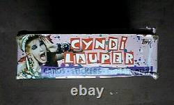 Vintage 1985 Topps Cyndi Lauper Trading Cards Box 36 Sealed Wax Packs