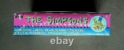 Vintage 1990 Topps The Simpsons Trading Cards Box 36 Sealed Wax Packs