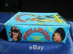 Vintage MORK & MINDY Picture Cards Bubble Gum/Trading Cards Full Box