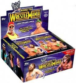 WWE Wrestling 2014 Road to WrestleMania Trading Card Box Hobby Edition