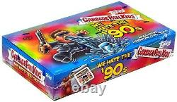 We Hate the 90s Trading Sticker Card HOBBY Collectors Edition Box