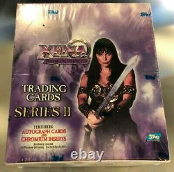 XENA Series 2 Sealed Box Trading Cards by TOPPS Sealed